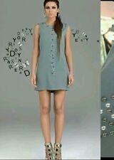 DENNY ROSE ABITO vestito art. 45dr11003 con perle taglia 46 ROSA