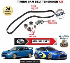 FOR SUBARU IMPREZA 1.5 2.0 2.5 STI WRX R 2002- NEW TIMING CAM BELT TENSIONER KIT