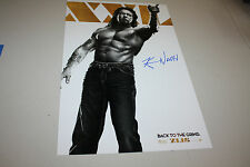 MAGIC MIKE XXL 11X17 MOVIE POSTER SIGNED BY KEVIN NASH FORMER WWE/WCW CHAMP SOLO