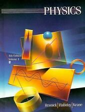 Physics, 4th Edition, Vol.1, Krane, Kenneth S., Resnick, Robert, Halliday, David