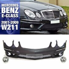 E63 AMG Style Front Bumper Without PDC For Mercedes Benz 2007-09 E Class W211