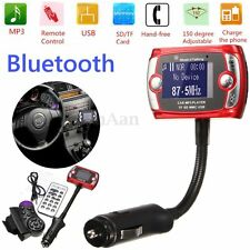Bluetooth FM Transmitter Car Kit MP3 USB Charger Handsfree for iPhone 6 Samsung