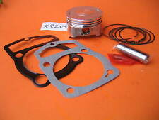 Piston 65.5mm x 43mm Rings Wrist Pin Clips Gaskets Kit Honda XR 200 Motocycle