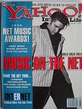 ELVIS PRESLEY 1998 YAHOO! Magazine