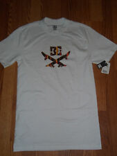 DC Shoes Ellipse White T-Shirt Size Small BNWT