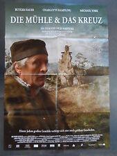 DIE MÜHLE & DAS KREUZ - Filmplakat A1 - Rutger Hauer - Lech Majewski