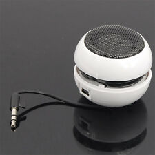 H1 Mini Portable Travel USB Bass Speaker for iPod iPhone MP3 Mobile Phone White