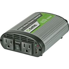 Sima 225-Watt Dual-Outlet Smooth Start Power Inverter Automotive Car