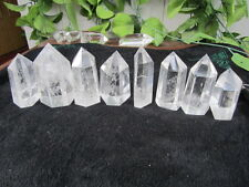 1142g/8pc NATURAL CLEAR QUARTZ CRYSTAL Cutting polishing  HEALING WHOLESALE​S