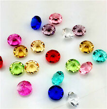 NEW 100Pcs 5mm Mix Birthstone Crystal Floating Living Memory Glass Lockets Charm