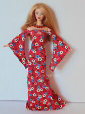 OOAK BARBIE DOLL Clothes Medieval GOWN + JEWELRY Fashion NO DOLL dolls4emma