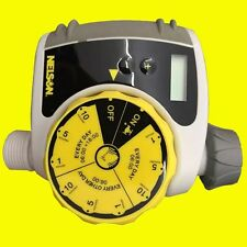 New Single-Dial Water Timer Water Pressure Garden Hose Tools Yard Patio Lawn