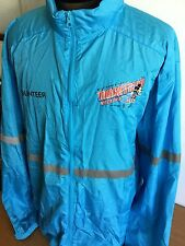 Disney Windbraker Jacket Weekend Marathon 2015 Walt World Sz XL Blue Hooded