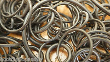 40G APPROX 200 ASSORTED RUBBER O RINGS  PLUMBING WASHERS SEALS HOSE SHOWER BATH