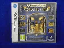 ds PROFESSOR LAYTON And The Spectre's Call/Last Specter NEW & Sealed REGION FREE