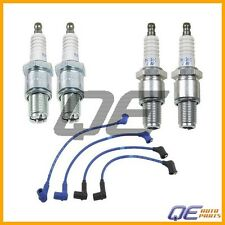RX8 2004-2008 R2 1.3 Iridium 4 Spark Plugs+Ignition Wires Set NGK High Perf.