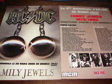 AC/DC - PUBLICITE / ADVERT FAMILY JEWELS !!!!!!!!!!!!