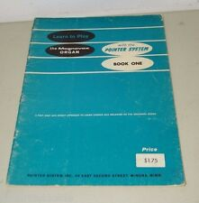 Magnavox Organ Pointer System Vintage Sheet  Music 15772 Book 1  One Instruction