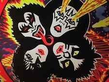 Kiss Rock and Roll Over Blacklight Poster 22x32 Gene Simmons Ace Frehley