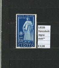 FRANCOBOLLI ITALIA  REGNO MNH**  (L8326)