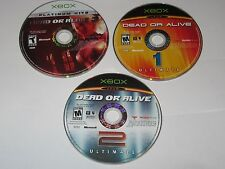 Xbox - Lot Of 2 Games - Dead Or Alive 3, Ultimate Disc Only