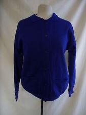 """Ladies Cardigan JRJ, size S, 40"""" bust, royal blue colour, polycotton, NWOT 7963"""