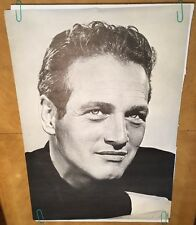 Vintage Paul Newman Head Shot 1966 Personality Posters Pin-up Celebrity Movie