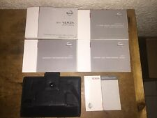 2011 Nissan Versa Owner's Manual with Booklet's & Case