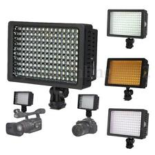 HD-160 LED Video Light Lighting Lamp + Diffuser For Canon D/SLR Camera Camcorder
