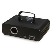 New 1100mW 1.1W FULL COLOR RGB ILDA DMX DJ Stage Laser Light Disco