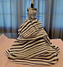 Barbie Platinum Label Chiffon Ball Gown Only   Freshly de-boxed
