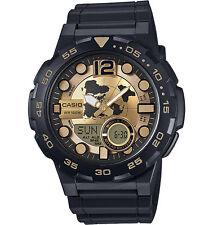 Casio Men's Databank 30 Watch, 100M, 3 Alarms, Chronograph, Resin, AEQ100BW-9AV