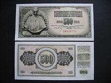 YUGOSLAVIA  500 Dinara 1.8.1970  (P84a)  UNC