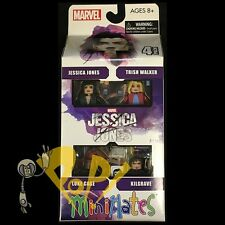 MARVEL Minimates JESSICA JONES Box Set NETFLIX Sealed Ser 1 LUKE CAGE Kilgrave!