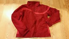 Columbia Womens Jacket /Coat Large Red Zipper Down Ladies REALLY NICE