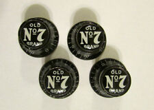 Old No 7 Guitar Knobs, Jack Daniel's logo volume Guitar Knobs, Jack Daniels No 7