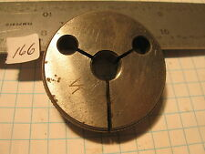 """7/16""""-28 NS GO .4137 Thread Gage Insp Only Plating (166) Machinist Tool"""