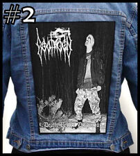 GOATMOON  --- Huge Jacket Back Patch Backpatch --- Various Designs