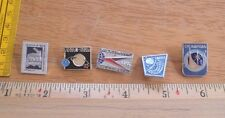 Russian Soviet Space pin lot of 5 from large collection NO RESERVE! VINTAGE 3J