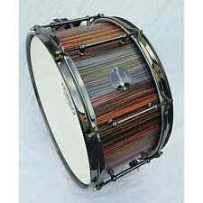 Tee Drums 14x7 Pastels finish Snare Drum with video demo link