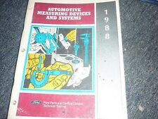 1988 FORD AUTOMOTIVE MEASURING DEVICES SHOP MANUAL