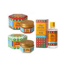 TIGER BALM - Small Pack 2 Tiger Balm 10gr Red / White and 1 Tiger Liniment 28ml