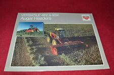 Versatile Tractor 4814 4814 Auger Headers Dealer's Brochure SP-AH/25-106-84 LCOH