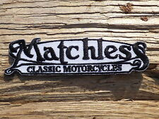 ECUSSON PATCH THERMOCOLLANT aufnaher toppa MATCHLESS moto motorcycle bsa norton