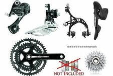 Campagnolo Veloce 10 speed triple group,Power torque