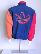vtg 90s colorblock ADIDAS obyo js bones vaporwave hip hop TREFOIL swag jacket M