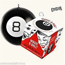 HALLMARK  2008 Magic 8 Eight Ball Ornament