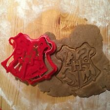 Harry Potter - Hogwarts Emblem cookie cutter - 1pcs - Plastic 3d printed (PLA)