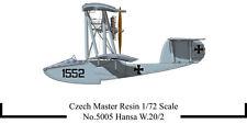 Czech Master Resin 1/72 Hansa Brandenberg W.20/2 Flying Boat # 5