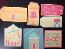 7 NEW HOME MOVING HOUSE CARD MAKING SCRAPBOOKING CRAFT EMBELLISHMENTS